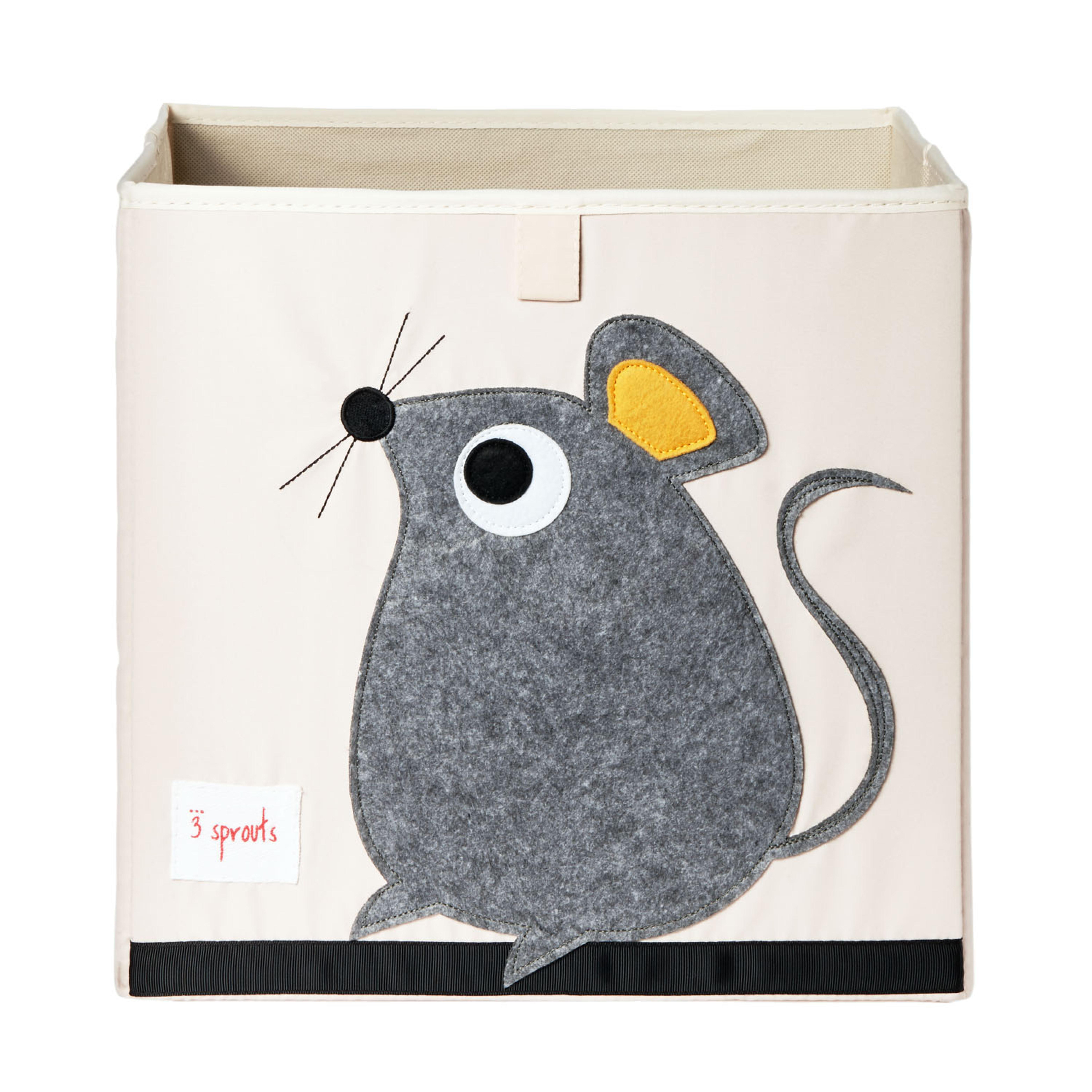 加拿大 3 Sprouts 收納箱-小老鼠
