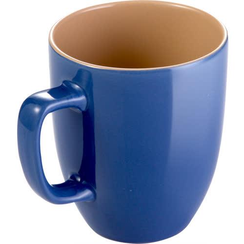 《TESCOMA》Crema雙色馬克杯(藍棕290ml)