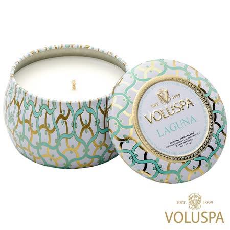 美國 VOLUSPA  白屋系列 香氛錫盒 113g