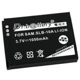Dr.b@ttery電池王 for SAMSUNG SLB-10A/SLB-11A 共用 高容量副廠鋰電池