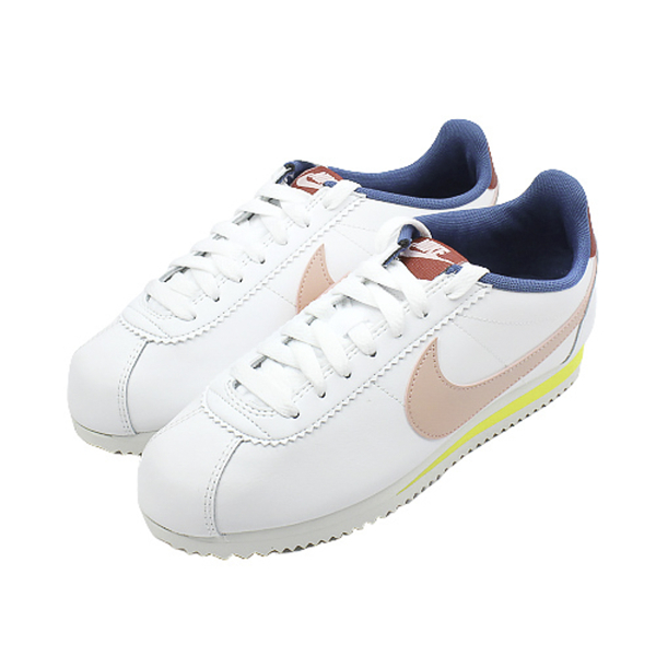 NIKE 女 WMNS CLASSIC CORTEZ LEATHER 經典復古鞋 阿甘鞋 - 807471114