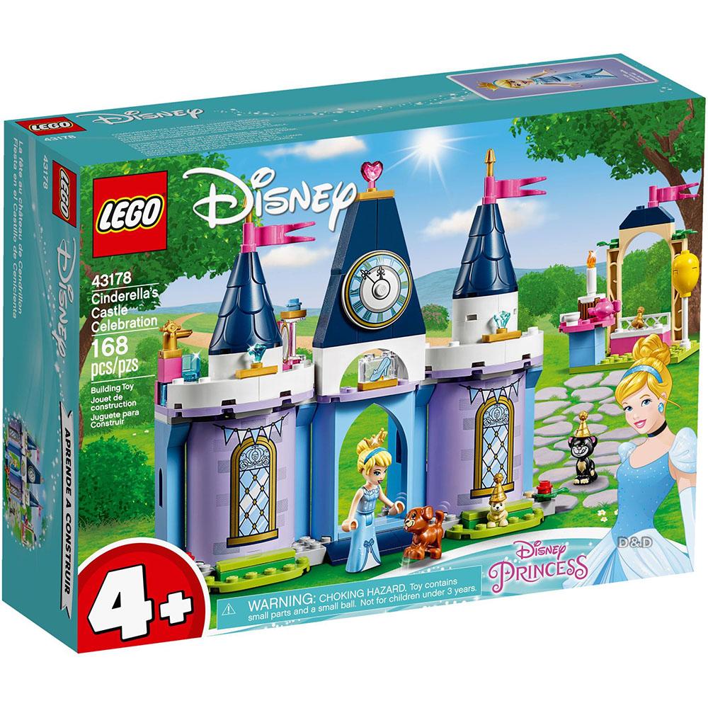 樂高積木 LEGO《 LT43178 》迪士尼公主系列 - 仙杜瑞拉的城堡慶典