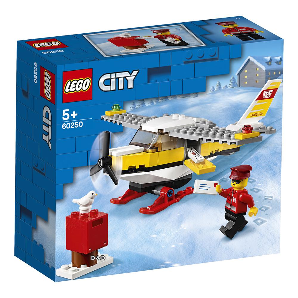 樂高積木 LEGO《 LT60250 》City 城市系列 - 郵政飛機