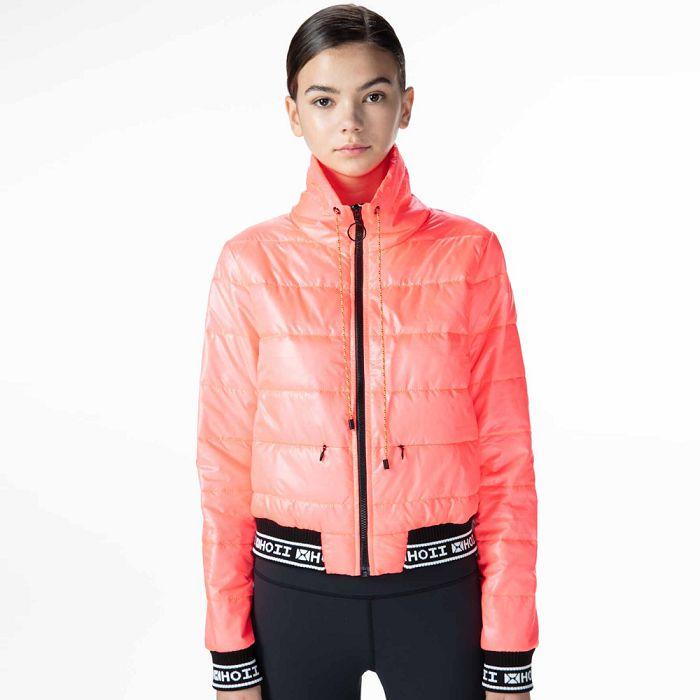 【HOII后益官方授權】HOII短版鋪棉外套-紅