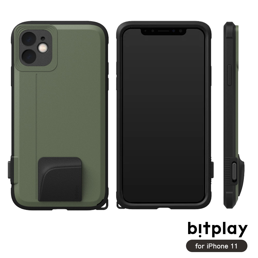 bitplay SNAP! iPhone 11 (6.1吋)專用 喀擦一鍵即拍相機快門鍵全包覆軍規防摔相機殼 ▲Green綠