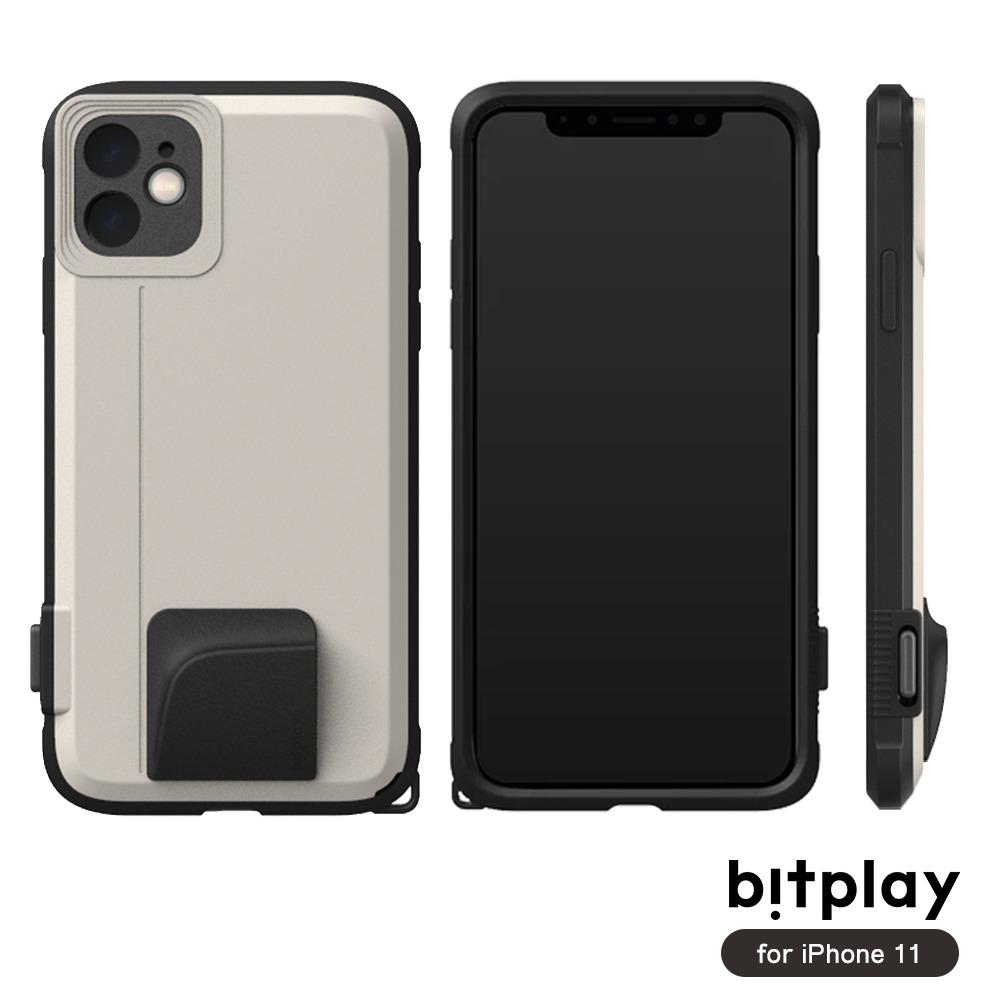 bitplay SNAP! iPhone 11 (6.1吋)專用 喀擦一鍵即拍相機快門鍵全包覆軍規防摔相機殼 ▲Sand沙