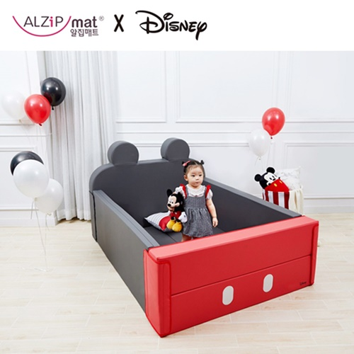 韓國 ALZiPmat & DISNEY 迪士尼 輕傢俬系列 多功能圍欄地墊/沙發床-米奇