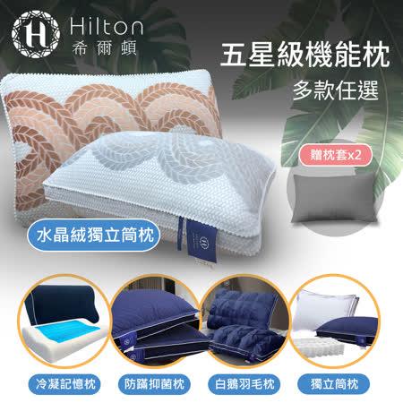 Hilton-買1送1 機能枕14款任選