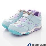 日本Moonstar機能童鞋 Carrot玩耍系列速乾鞋款C22619藍-15~19cm