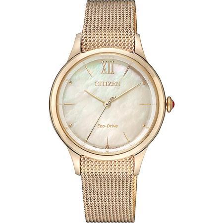 CITIZEN 星辰 L系列廣告款光動能女錶
