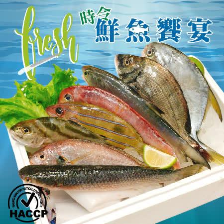 頤珍鮮物 現撈時令鮮魚8件組