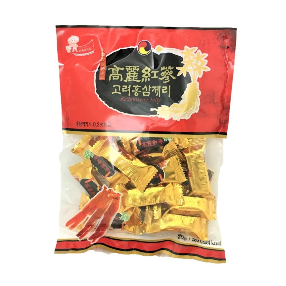 【韓國】古早味 高麗紅蔘軟糖 280g (3包/ 組)