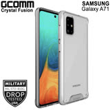 GCOMM Galaxy A71 晶透軍規防摔殼 Crystal Fusion