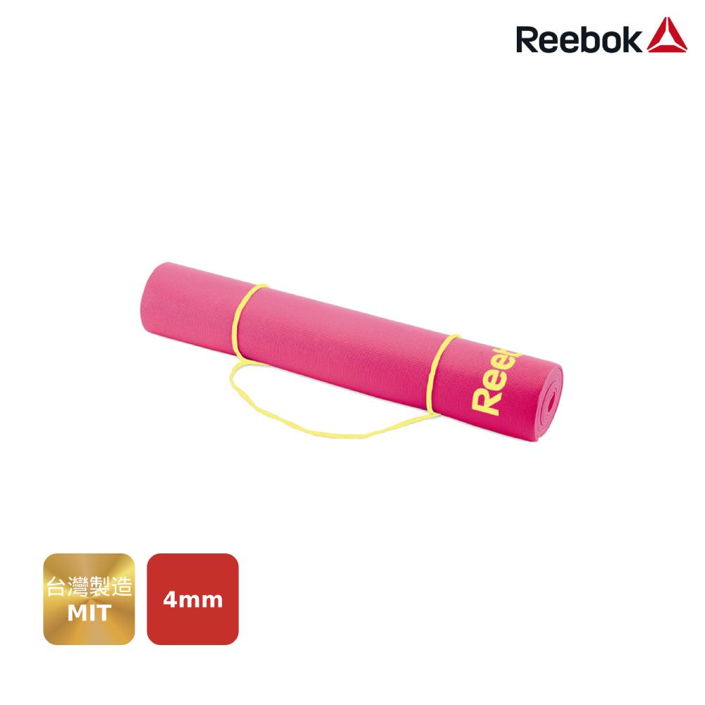 Reebok 瑜珈墊(4mm)-粉色
