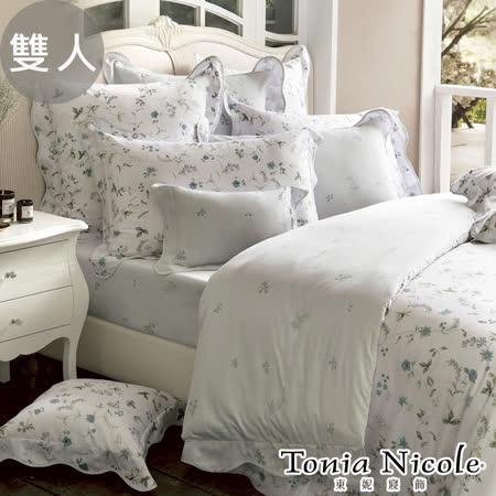 東妮寢飾-繁花童話 長纖細棉被套床包組