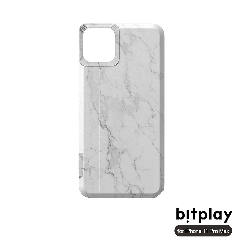 bitplay SNAP! iPhone 11 Pro Max(6.5吋)相機殼專用換色背蓋-大理石紋
