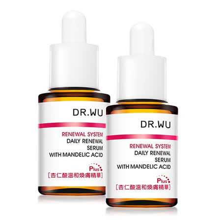 DR.WU  杏仁酸溫和煥膚兩件組