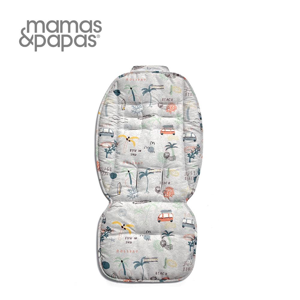 【Mamas & Papas】通用雙面推車座墊-邁阿密海灘