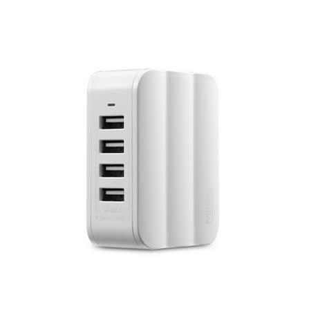 MiniQ 4孔6A USB充電器