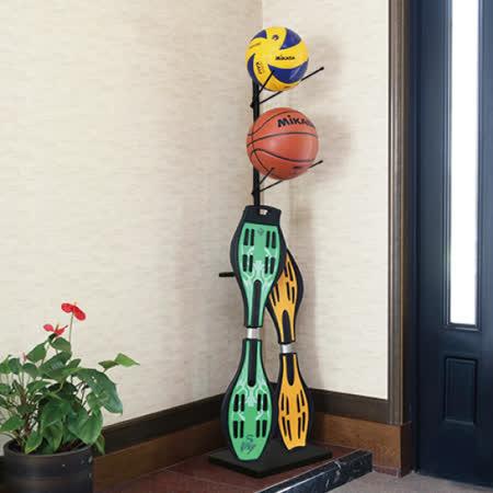 無印風 籃球收納架