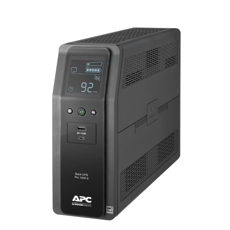 APC 不斷電系統 Back-UPS Pro BRMS系列 Back UPS Pro BRMS 1000VA LCD Taiwan ( BR1000MS-TW )