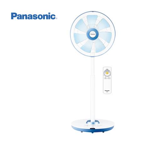 Panasonic國際牌14吋 DC定時遙控立扇(福利品)