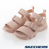 SKECHERS 女 休閒系列 涼拖鞋 D''''LITES 2 - 32998BLSH