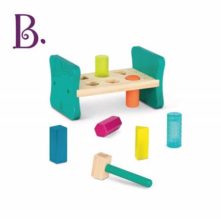 美國B.Toys 感統玩具-敲擊基地