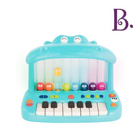 美國B.Toys 噴氣河馬彈鋼琴
