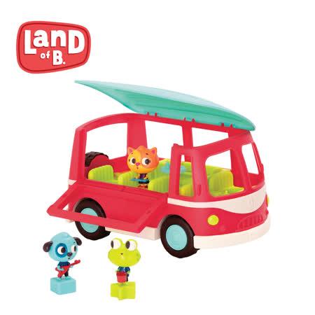 美國B.Toys感統玩具 嘟嗶嘟音樂胖卡