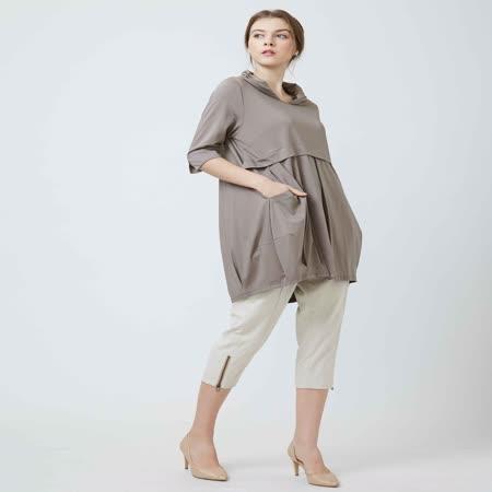 FrescOggi    時尚甜美簡約造型長版上衣