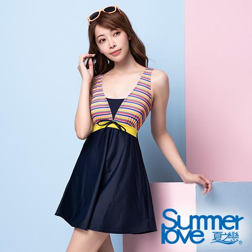夏之戀SUMMERLOVE 大女連身裙泳衣 S20711