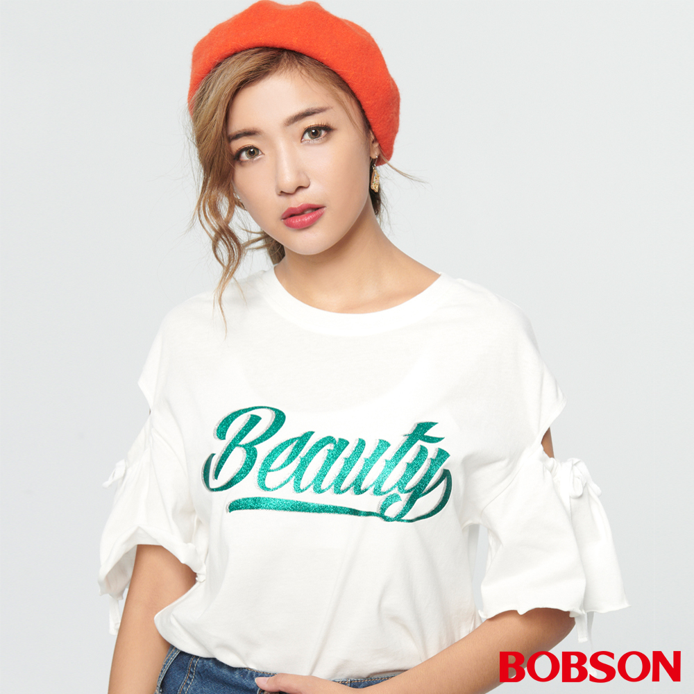 BOBSON 女款變化型裸肩上衣 (28072-80)