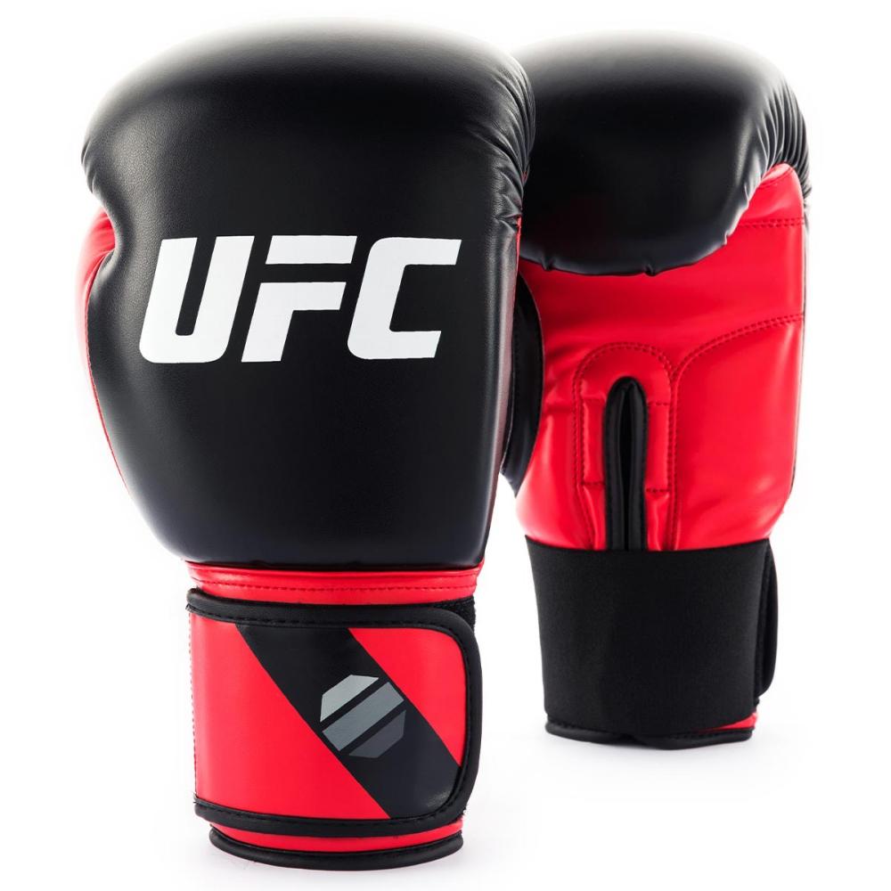 UFC PRO-輕巧型訓練拳套_紅/黑