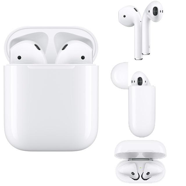 Apple原廠 AirPods 耳機-搭配有線充電盒 (2019-2代)_MV7N2TA/A
