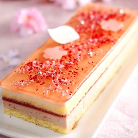 【七見櫻堂】 櫻花盛開時 櫻花蛋糕
