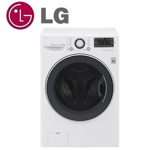 LG 樂金 14公斤 6 MotionDD直驅變頻滾筒洗衣機 炫麗白(F2514NTGW)