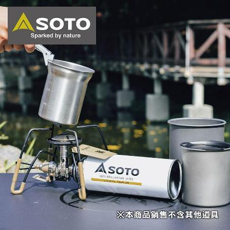 日本SOTO  鈦杯/不銹鋼杯料理組
