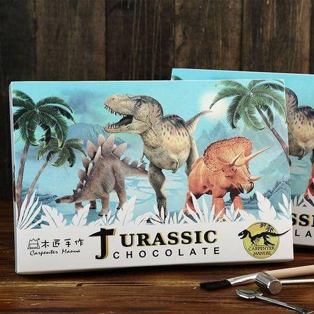木匠手作 恐龍化石巧克力 (大盒)