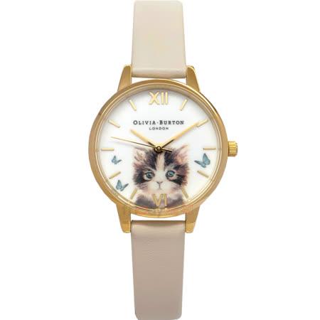 OLIVIA BURTON  療癒貓咪女錶