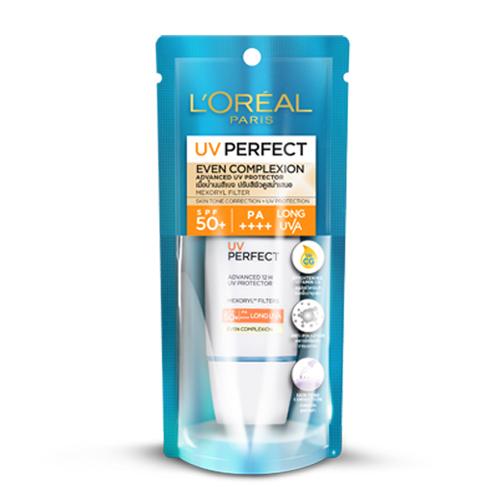 【超值2入組】萊雅完美UV全效防護隔離乳-膚色30ml