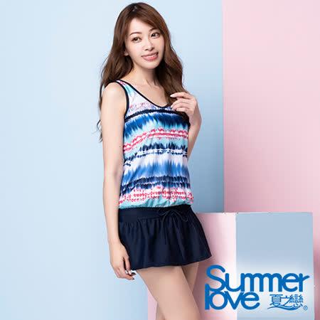 夏之戀SUMMERLOVE 連身裙二件式泳裝