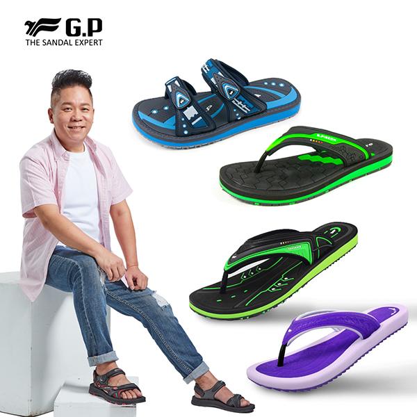 【G.P】男女款經典舒適拖鞋系列任選2雙$750