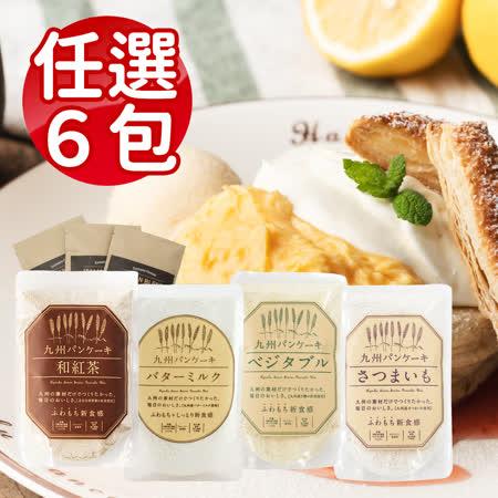 九州鬆餅 任選6包 牛奶/野菜/薩摩芋