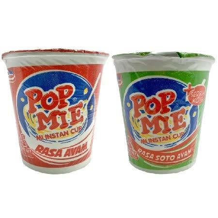 POP MIE 雞肉杯湯麵任選18入