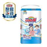 《GOO.N》日本大王紙尿褲國際版輕薄舒爽-褲型(XL/ 42片*4包)