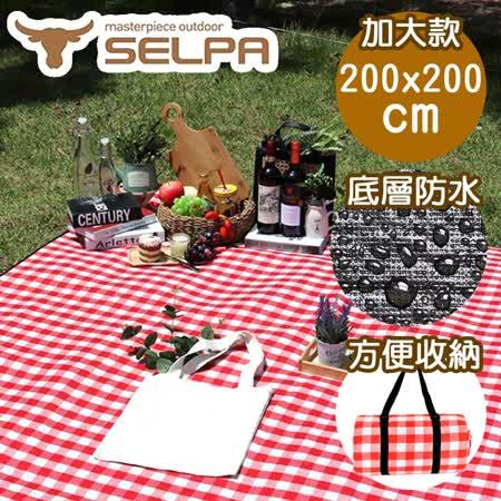 韓國SELPA  加大繽紛野餐墊