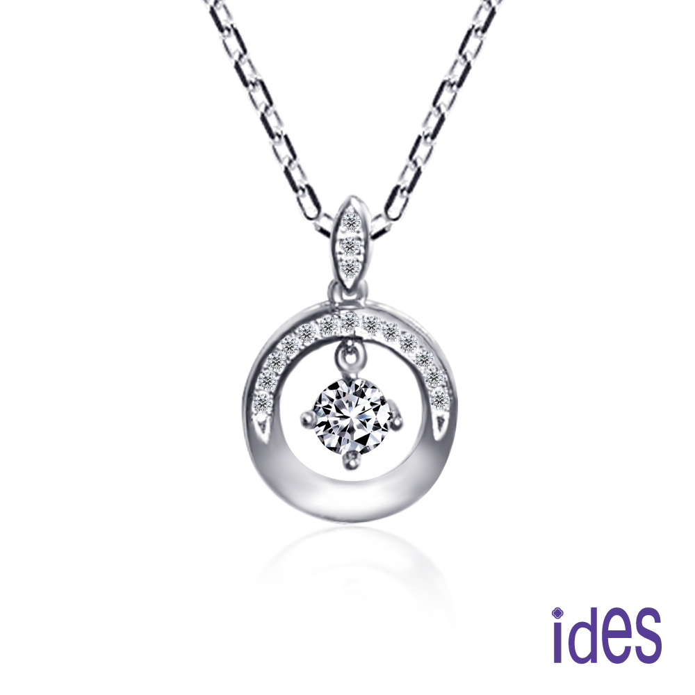 ides愛蒂思 設計款30分F/VS2優良車工3VG鑽石項鍊/優雅