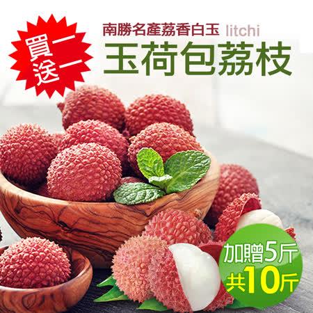 南勝名產 玉荷包荔枝5斤