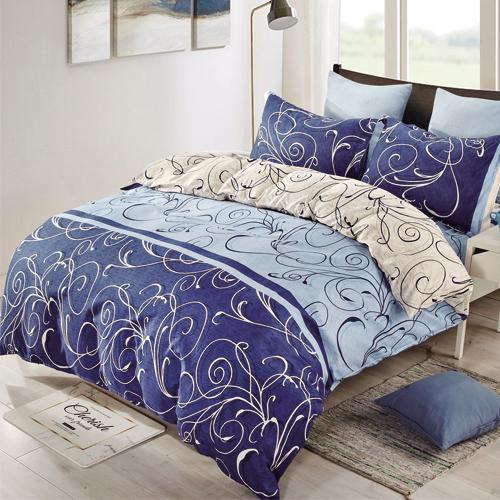 超柔舒眠四件式加大床包涼被組